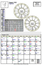 Daywatch Astrological Calendars