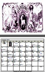 DayWatch Designer Astrological Calendar 2013